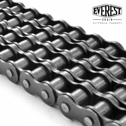 Four strand roller chains